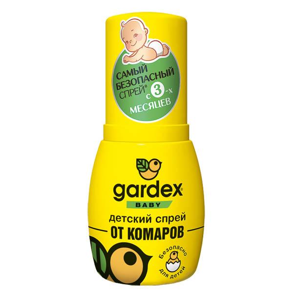 GARDEX Baby Спрей дет. от комаров 50мл
