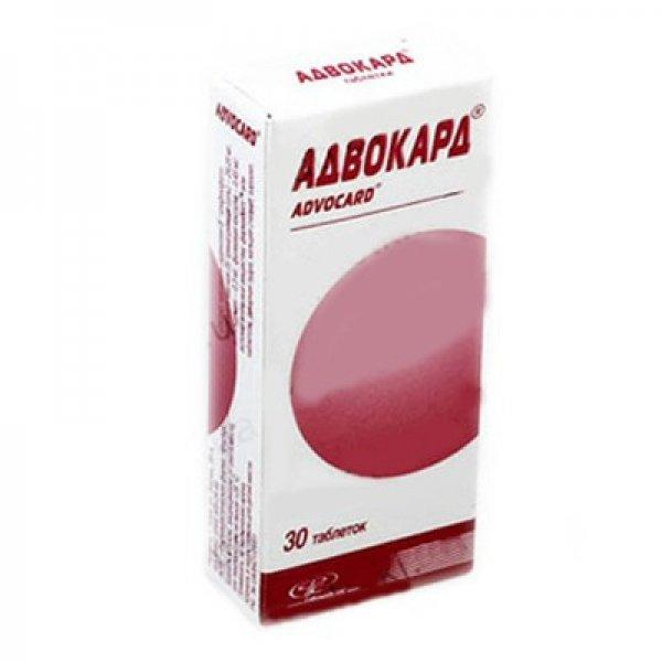 АДВОКАРД тбл. N30