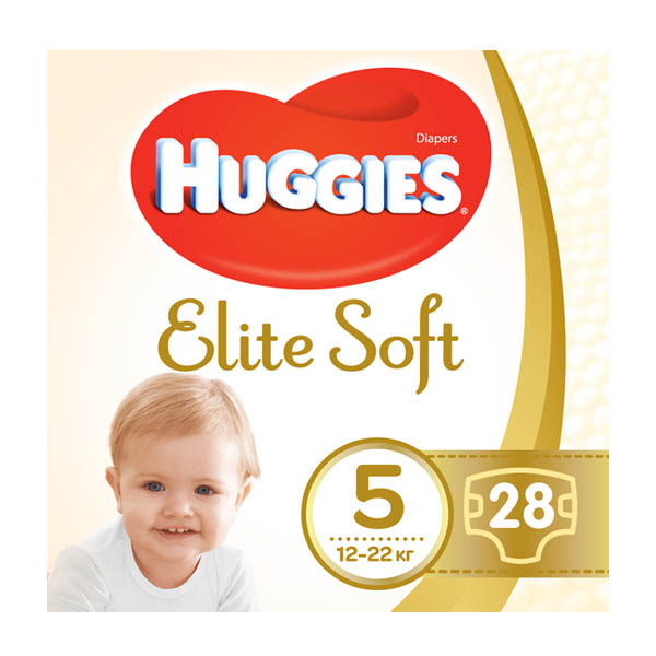 HUGGIES Elite Soft подгузн. jumbo 5 28x4