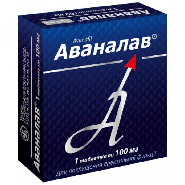 АВАНАЛАВ табл.100 мг№1
