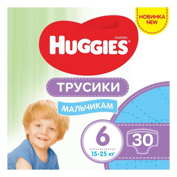 HUGGIES pant Трусики-подгузники jumbo 6  30x2 Boy
