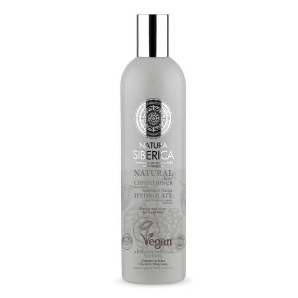Natura Siberica Кондиционер для ослабленного волос энергия и блеск,400 мл