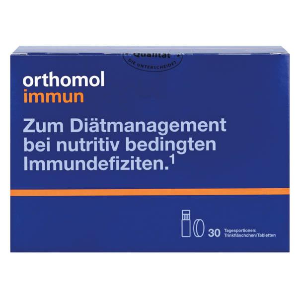 ОРТОМОЛ Immun /питна бутилочка + таблетки/ (відновлення імунної системи) 30 днів  арт.1319991