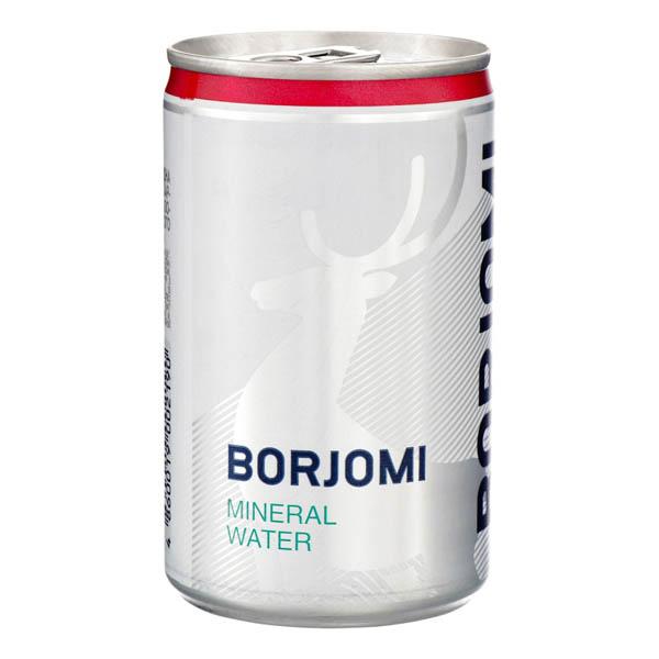 ВОДА Боржоми 0,15л ж/б газ