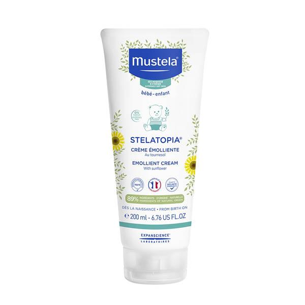 Mustela Emollient Cream емульсія зволожуюча для шкіри, 200мл.