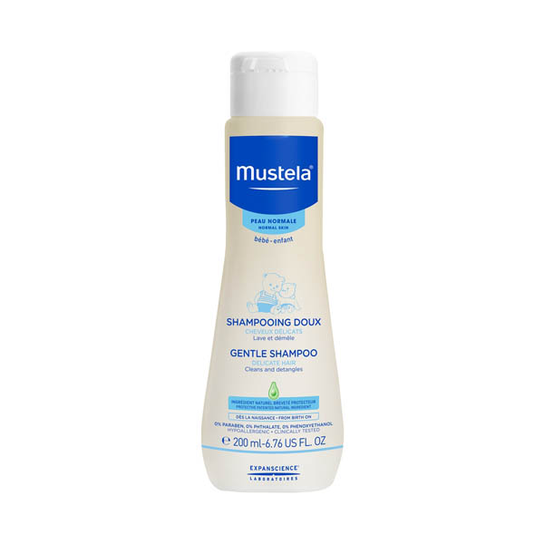 Mustela Gentle Shampoo Пом'якшуючий шампунь для волосся, 200 мл.