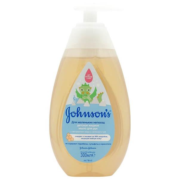 """JOHNSONS Детс. мыло для рук """"Для маленьких непосед"""" 300 мл"""