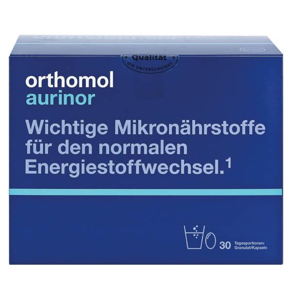 ОРТОМОЛ Aurinor /гранули + капсули) (обмін речовин) 30 днів  арт. 10176964