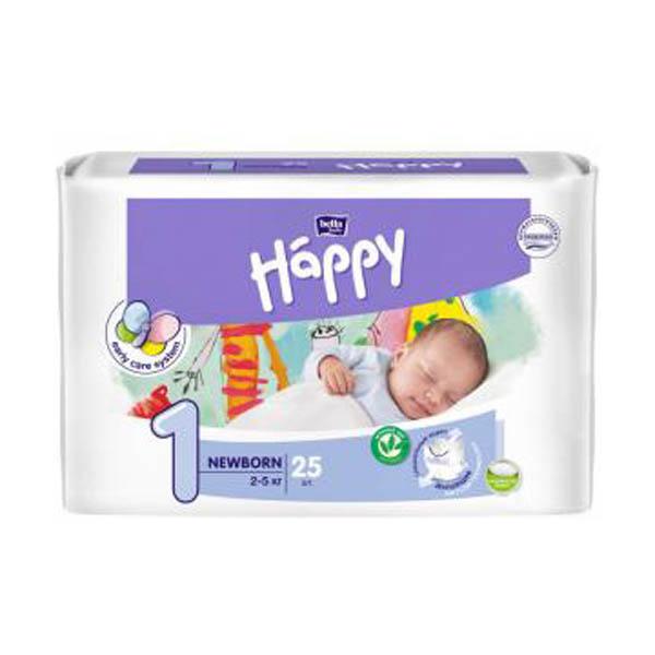 BELLA Підгузники Белла Хеппи Baby New Born  25 шт.2-5кг