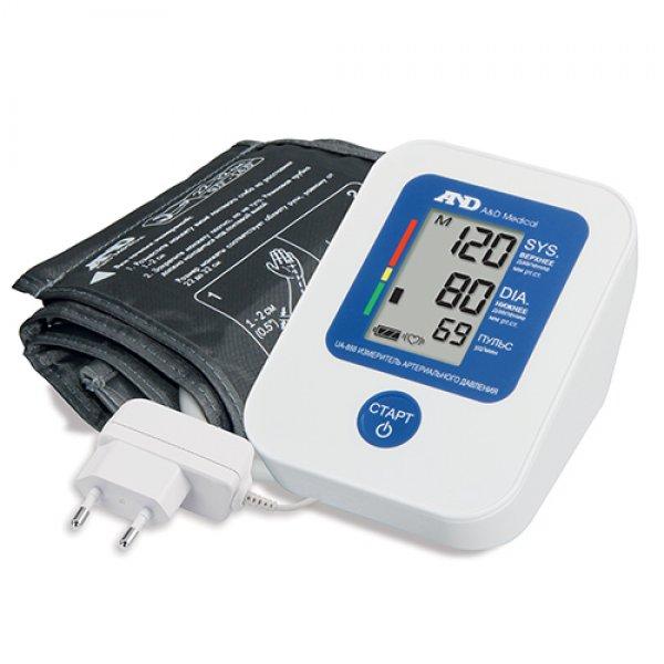 A&D Прилад для вимірювання артеріального тиску та частоти пульсу A&D UA-888EAC