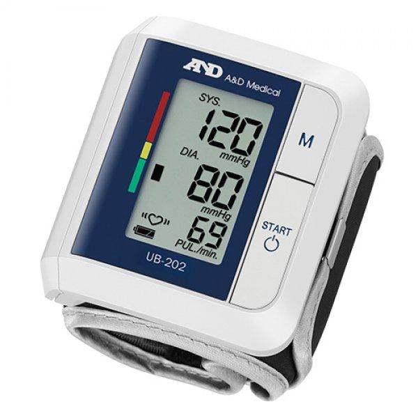 A&D Прилад для вимірювання артеріального тиску та частоти пульсу A&D UB-202