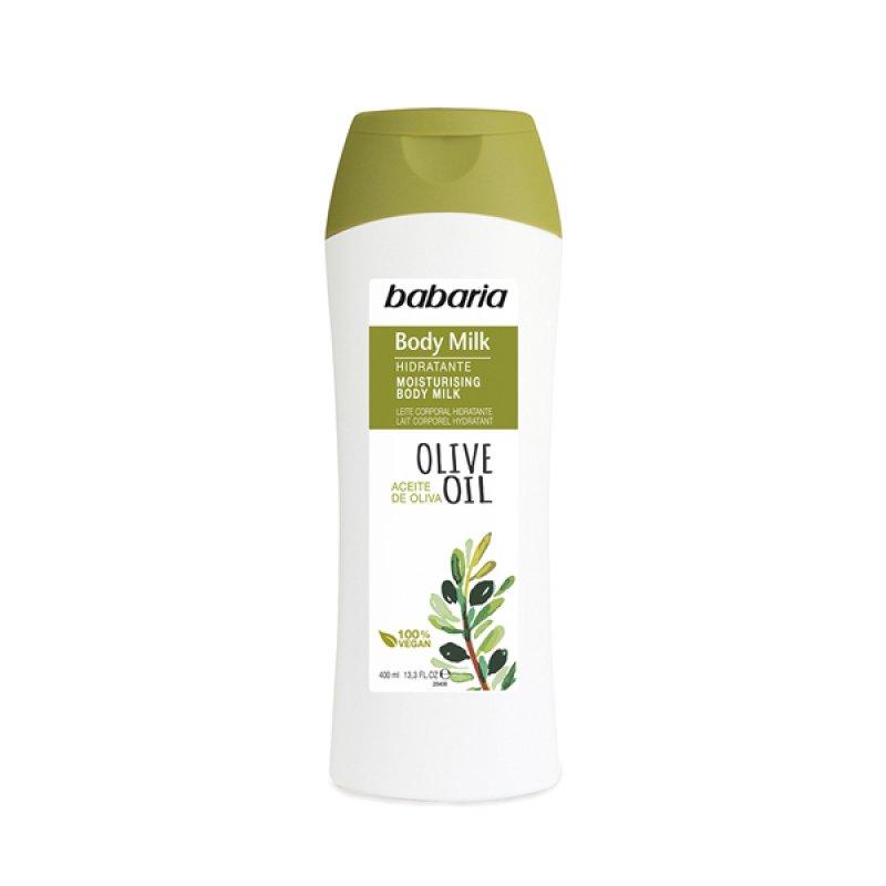 Babaria зволожувальне молочко для тіла з олією оливи 400 ml
