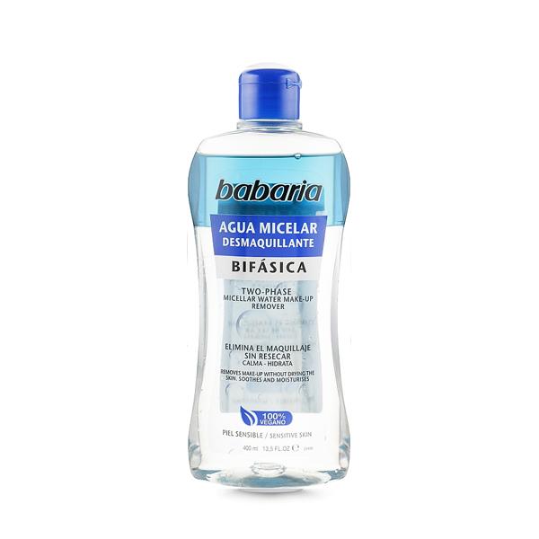 Babaria двофазна міцелярна вода для зняття макіяжу400 мл